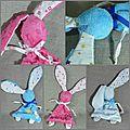 Les doudous lapins