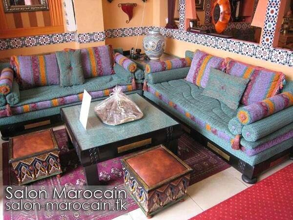 Salon marocain majestueux 2014 - Salon marocain moderne 2014