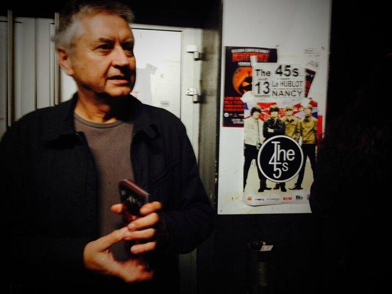 The 45 s IDenis Attenot tracte pour le concert du 13 novembre 2014