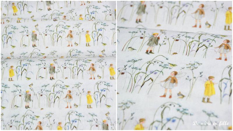 elfes dans l'herbe