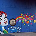 Fresque Centre Social Marlière-Croix ROuge à Tourcoing
