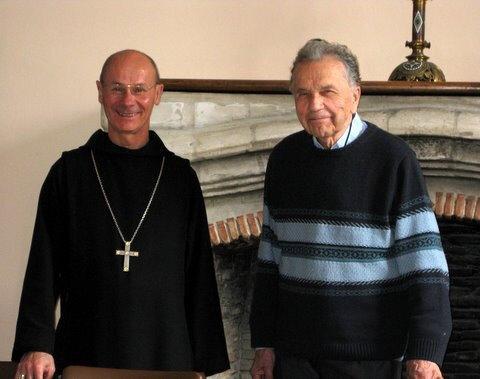 Frère Etienne père Abbé, Jacques Breton, Abbaye de Fleury, 2011
