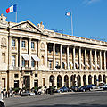Hotel de crillon - paris - france