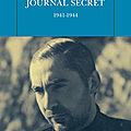 Journal secret 1941-1944