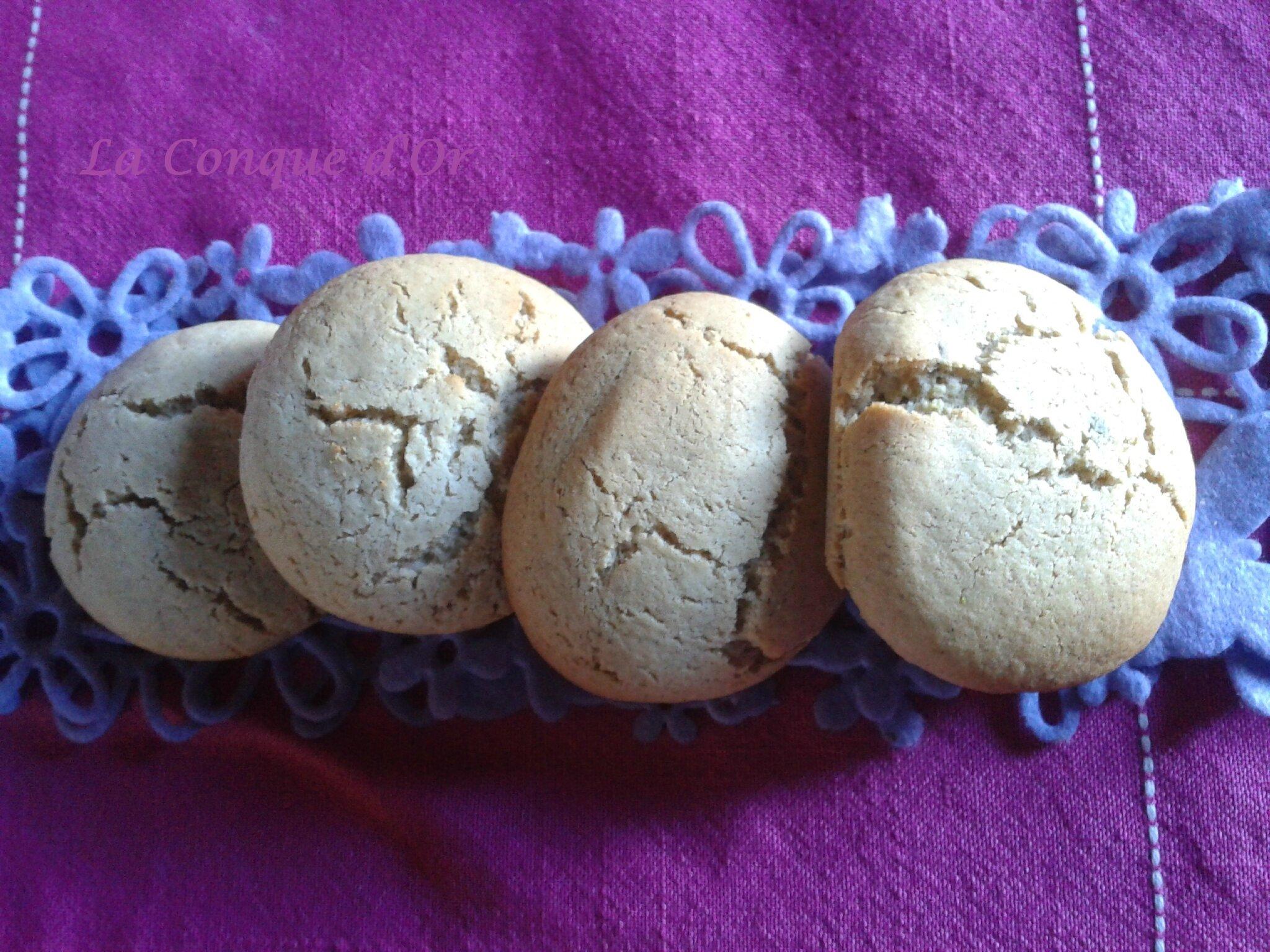 Biscuits chocolat-pistaches ou amandes, au choix!