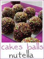 cakes balls nutella - index