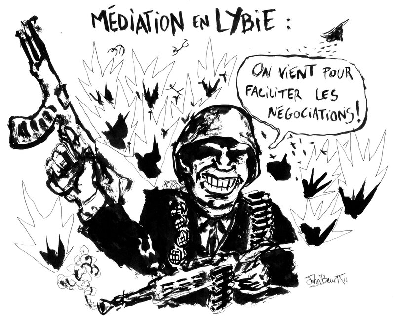 mediation lybie