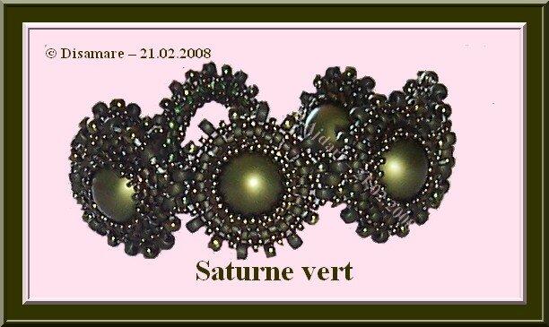 Saturne vert