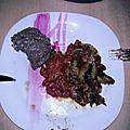 Saupiquet d'aubergines