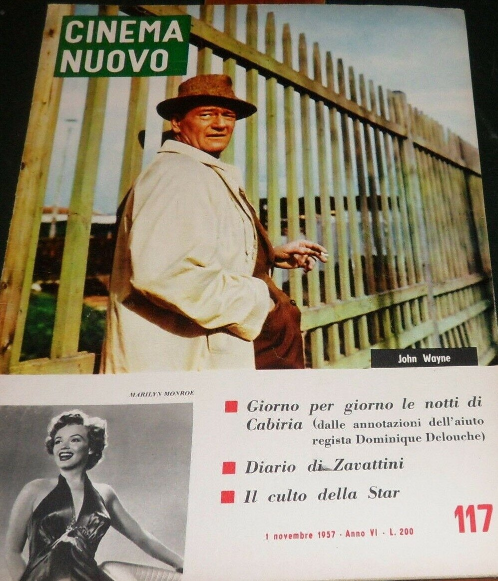 Cinema nuovo (It) 1957