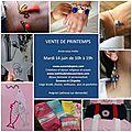 Invitation pour la vente d'Avignon (sans adresse)