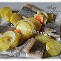 Filets de harengs marinés