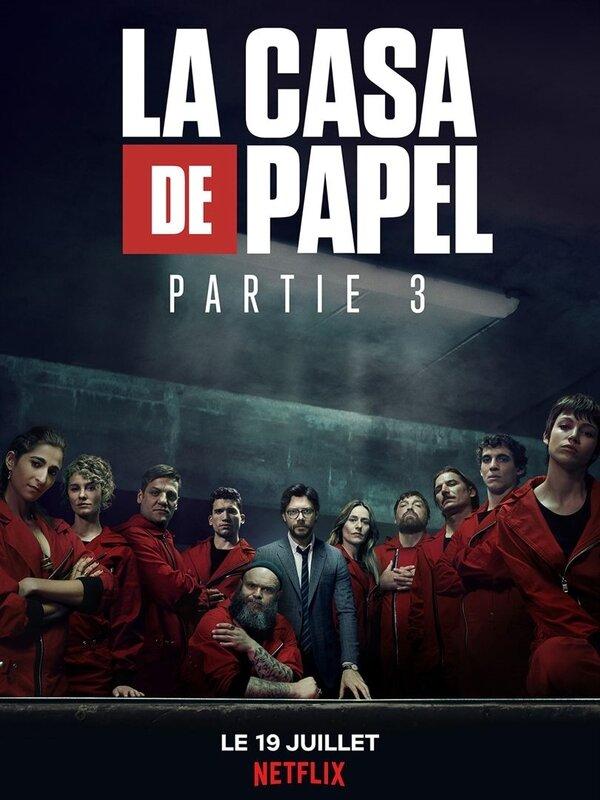 La Casa de Papel 3 poster