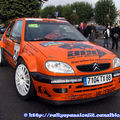 2009: Rallye de Haute-Saône/Départ et parc fermé