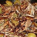 Sardines fraiches a la tunisienne