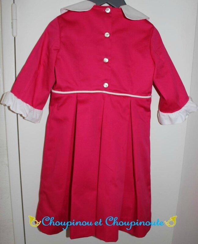 robe Capucine dos