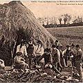 Loj quevellec en 1818 à guiscriff [géographie]
