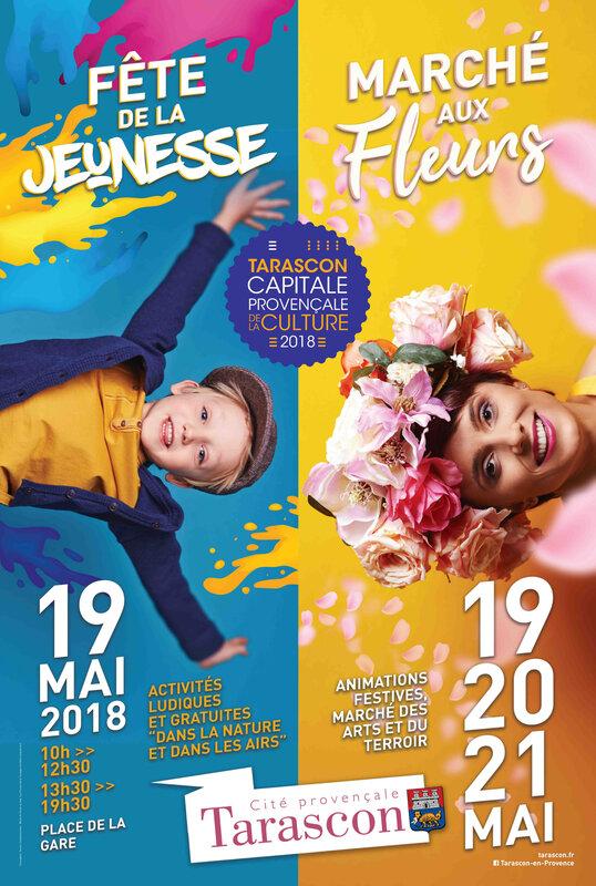 2018 affiche tarascon - Fête Jeunesse
