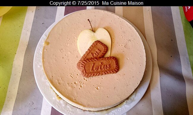 CHEASECAKE POMME SPECULOS 002