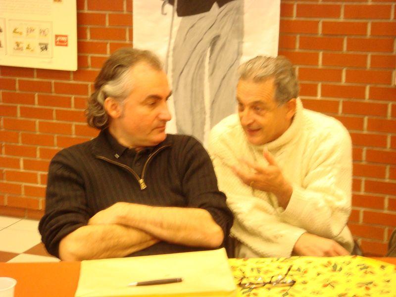 F Thomazeau et Alexandre Clément