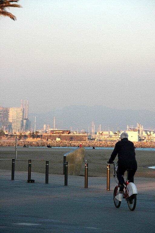 Barcelone - Barceloneta, vélo_6538