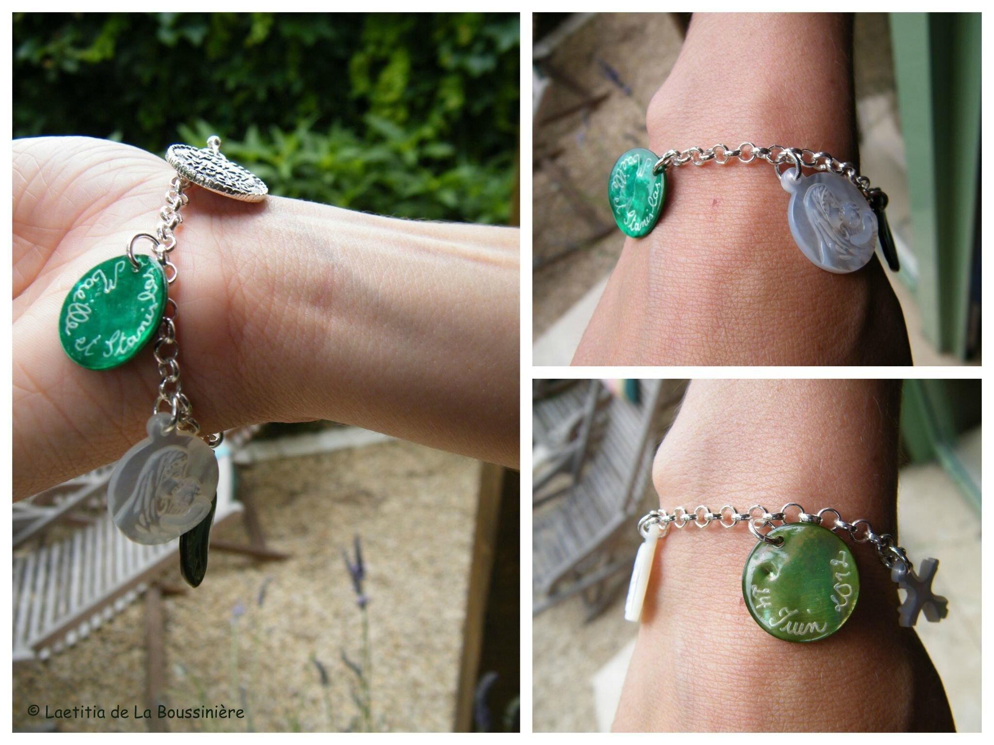 Bracelet de Fiançailles (porté)