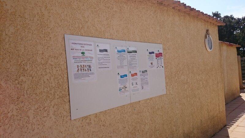 Les panneaux d'Infos
