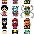 Mini-super-heroes