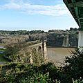 Les deux ponts suspendus de la roche bernard