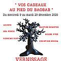 affiche au pied du baobab NOËL 2020