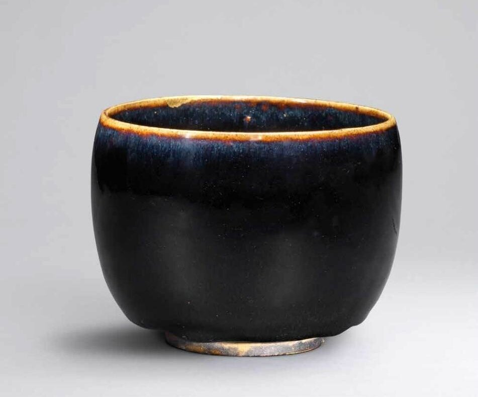 A black-glazed deep bowl, Northen Song dynasty (960-1127)