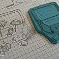 Defi gravure 7/12: ma petite valise pour le voyage