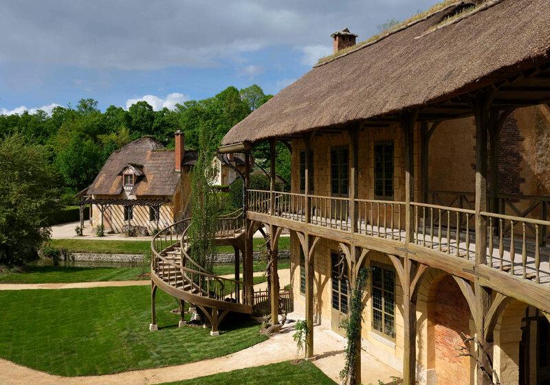 La Maison de la Reine restaurée - photo Château de Versailles