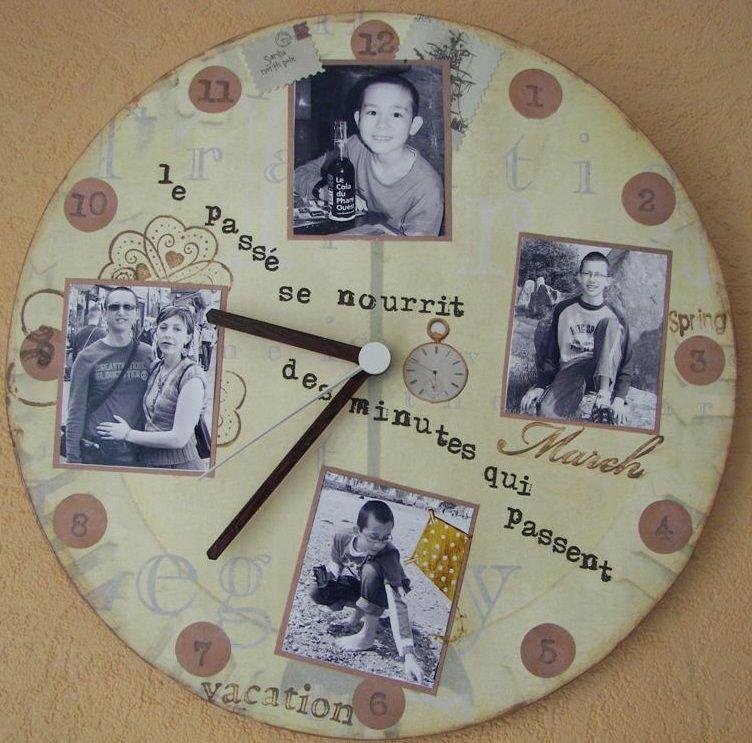 horloge essai pour le salon