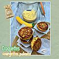 Croquette courgette & polenta - challenge fins de mois difficiles - #fdmd8