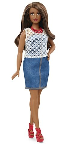 mattel barbie curvy 3
