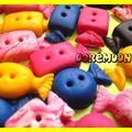 Boutons Bonbons Papillotes