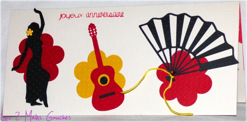 Carte Porte Billet Theme Espagne Photo De Cartes D Anniversaire