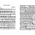 L'orange - gilbert bécaud (partition - sheet music)