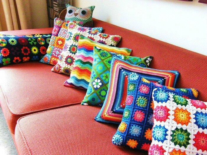 collection coussins