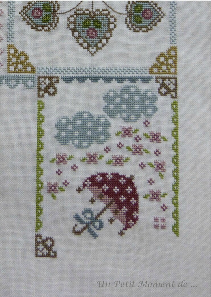 SAL Spring in Quilt 7 - 2