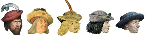 Les chapeaux de feutre