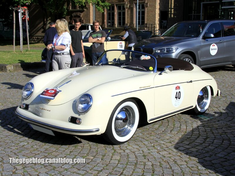 Porsche 356 AT1 speedster de 1956 (Paul Pietsch Classic 2014) 01