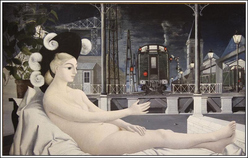 Paul Delvaux - L'âge de fer