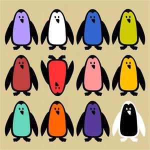 pedro le pingouin vect