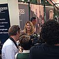 Avec Stefanie Graf pour Longines à Roland Garros