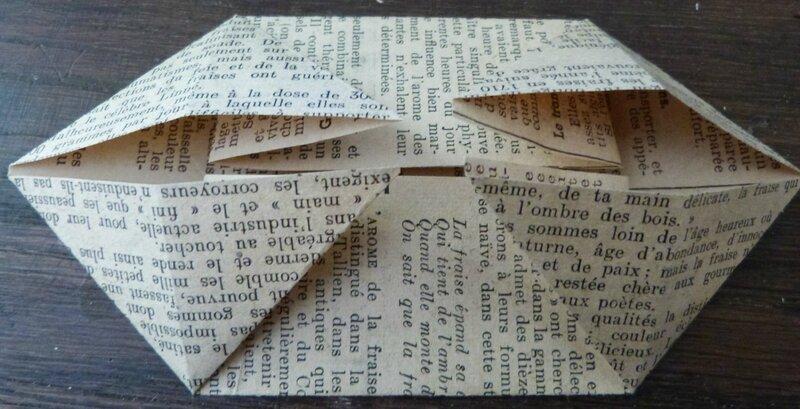 Tuto lapin origami papier ancien (9)