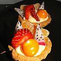 Petites tartelettes aux fruits