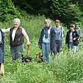 Le groupe des randonnées