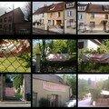 Les banderolles de mécontentement sur les façades des maisons